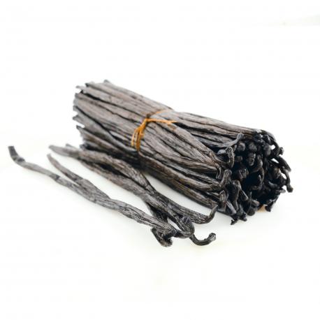 Gousses de Vanille Bourbon de Madagascar BIO - Qualité Noir Gourmet