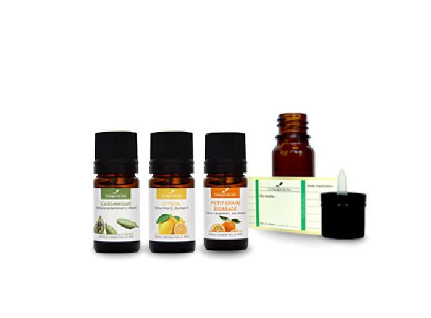 Aérophagie (enfants)| Pack d'huiles essentielles