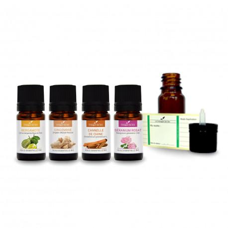 Ambiance exotique| Pack d'huiles essentielles