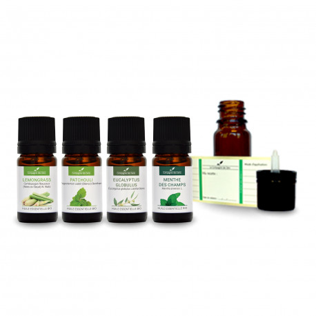 Diffusion anti-odeur de Tabac | pack d'huiles essentielles