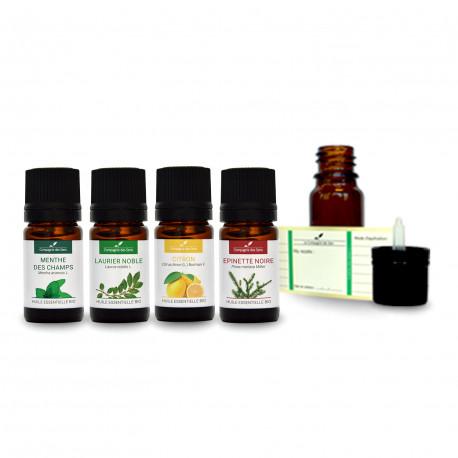 Diffusion concentration | Pack d'huiles essentielles