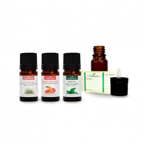 Ambiance fraîcheur | Pack d'huiles essentielles
