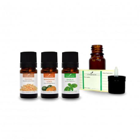 Ambiance méditation| Pack d'huiles essentielles