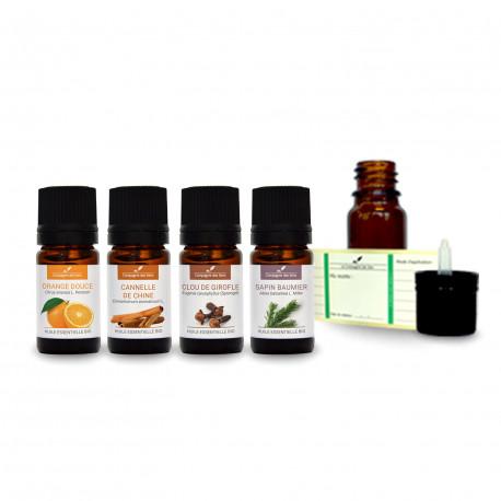 Ambiance Noël | Pack d'huiles essentielles