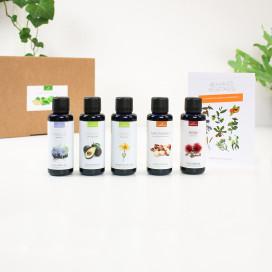 La box découverte des huiles végétales