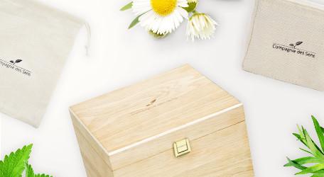 Aromathèques, trousses et rangements pour huiles essentielles