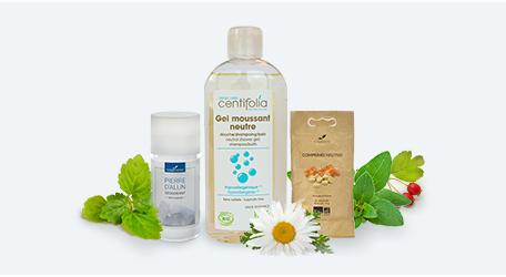 Supports pour huiles essentielles et végétales
